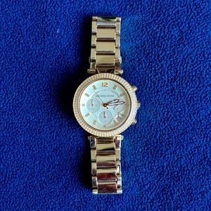 Gold Michael Kors Watch - Used